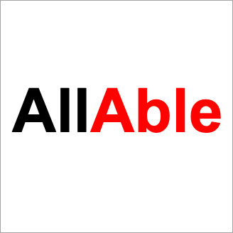 All Able logo - public sector, education, accessibility statement and disproportionate burden support for elahub.